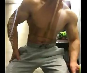 Chinese muscle bear..