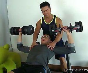 Asian Stud Alex Chu Gives..