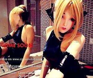 Cosplay Latex Doll..