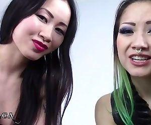 Spitting Asian Goddesses JOI..
