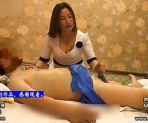 Chinese Homemade Footjob..