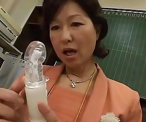 Japanese milf teacher..