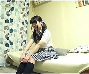 Petite Japanese Teen With..