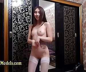 Skinny Little Asian Dancing..