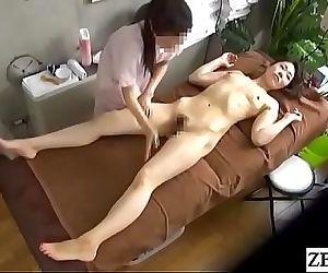 JAV CFNF lesbian massage for..