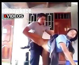 Indian school girl get fuck..