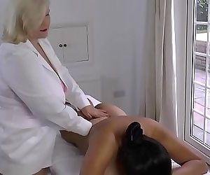 LACEYSTARRLesbian Massage..